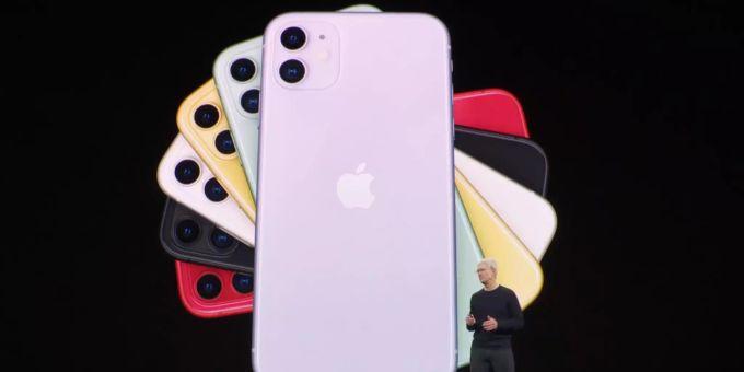 apple stellt neues iphone 11 und iphone 11 pro vor. Black Bedroom Furniture Sets. Home Design Ideas