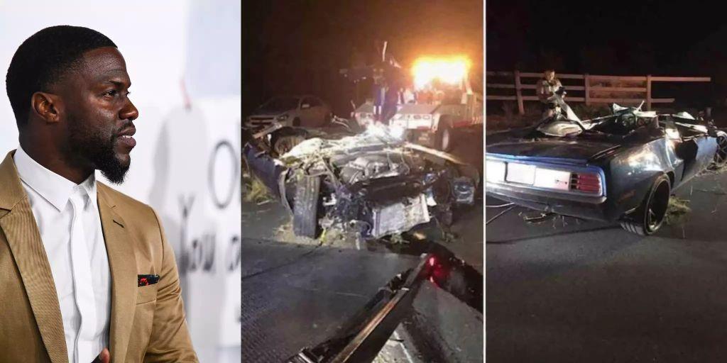 Kevin Hart Autounfall