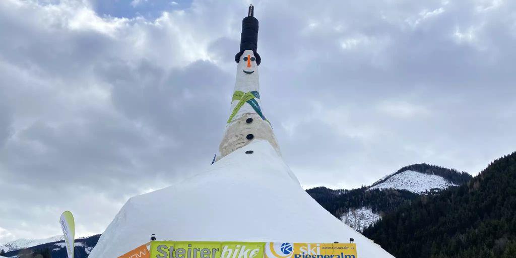 Größter Schneemann Der Welt