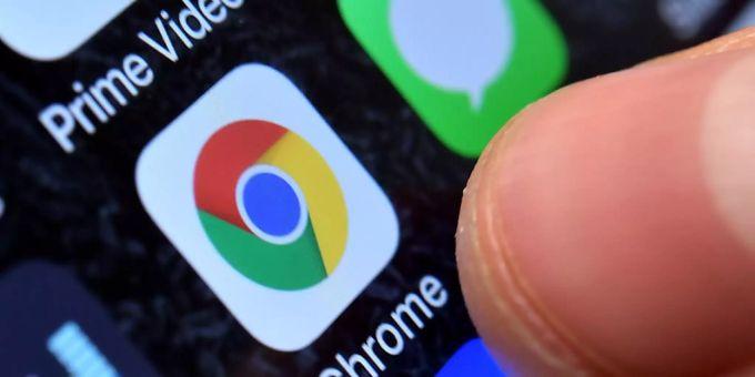 Chrome Leiste Nach Oben Verschieben