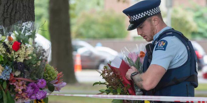 Neuseeland Terror Detail: Jacinda Ardern Gedenkt Den Christchurch-Opfern