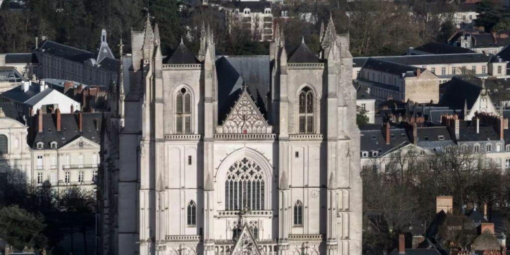 Großbrand Kathedrale Nantes