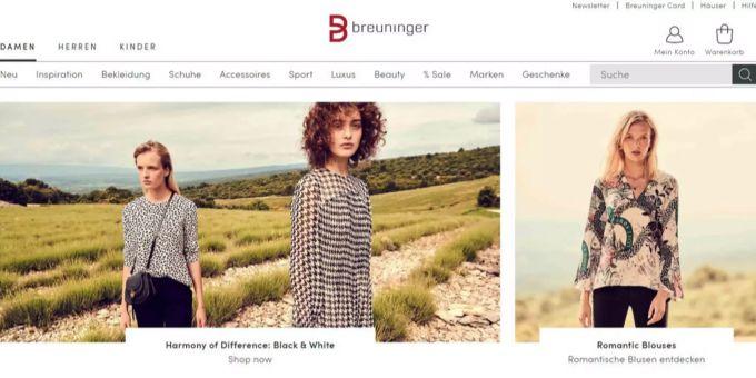 Damenmode online kaufen :: BREUNINGER