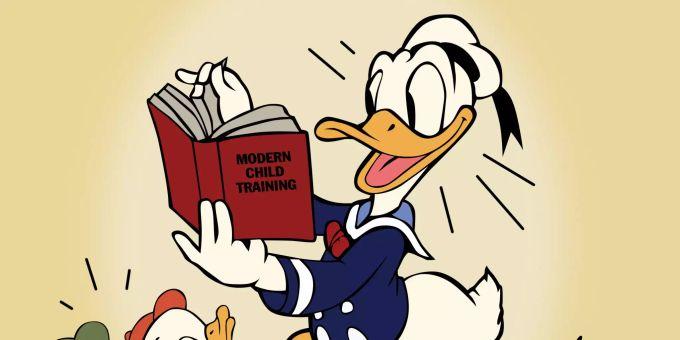 Donald Duck Wird 85 Jahre Alt