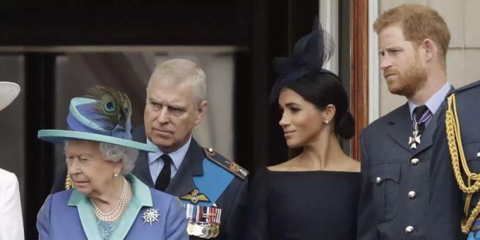 Meghan Markle Prinz Andrew