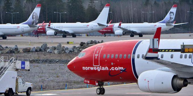 Norwegian Airlines Aktie