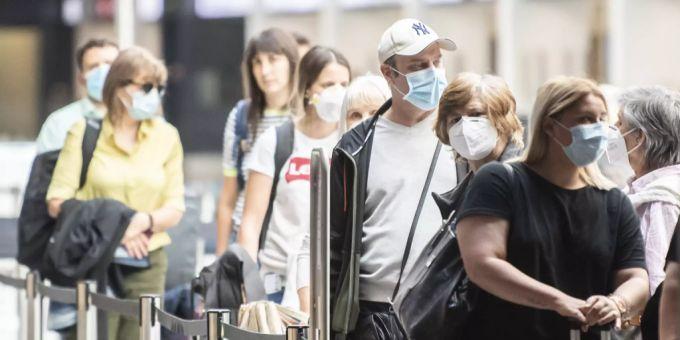 Zurich Airport Coronavirus SVP