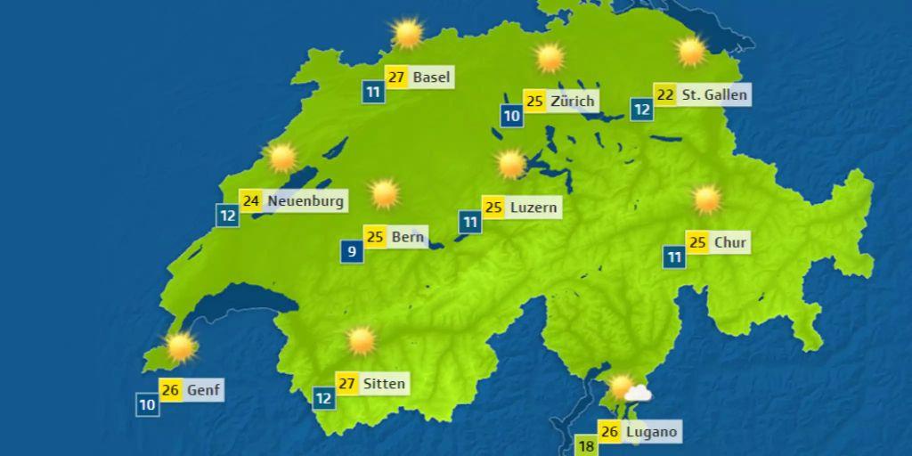 Wetter Bern 14 Tage