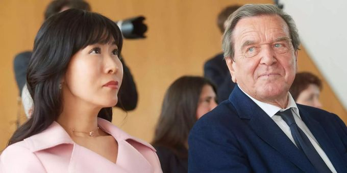 Gerhard Schröder Deutscher Altkanzler Wieder Verheiratet