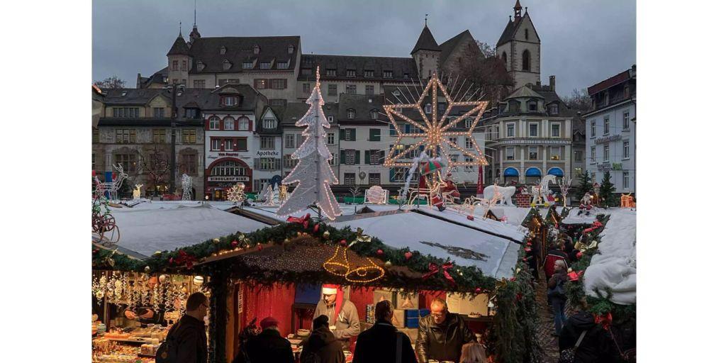 Heute Beginnt In Basel Der Weihnachtsmarkt