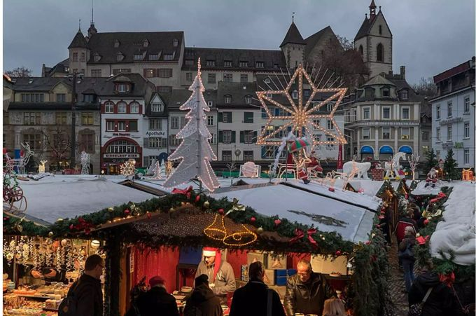 Wo Ist Heute Ein Weihnachtsmarkt.Heute Beginnt In Basel Der Weihnachtsmarkt