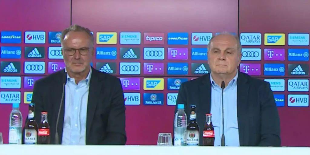 Uli Hoeneß Pressekonferenz