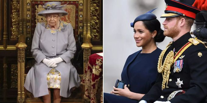 Meghan Markle, la regina Elisabetta