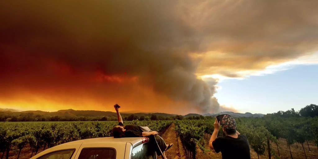 Brand Kalifornien
