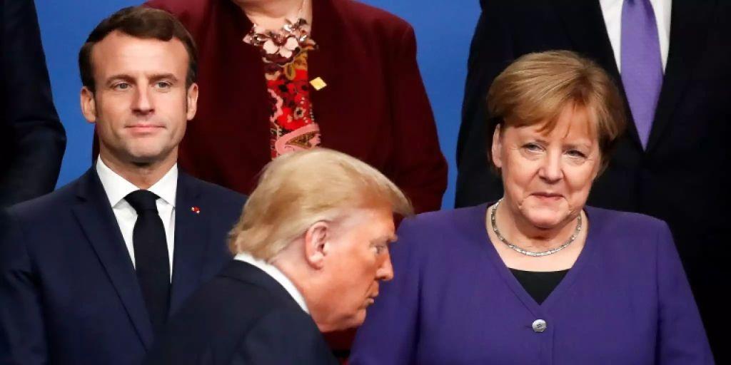 Merkel In Den Usa