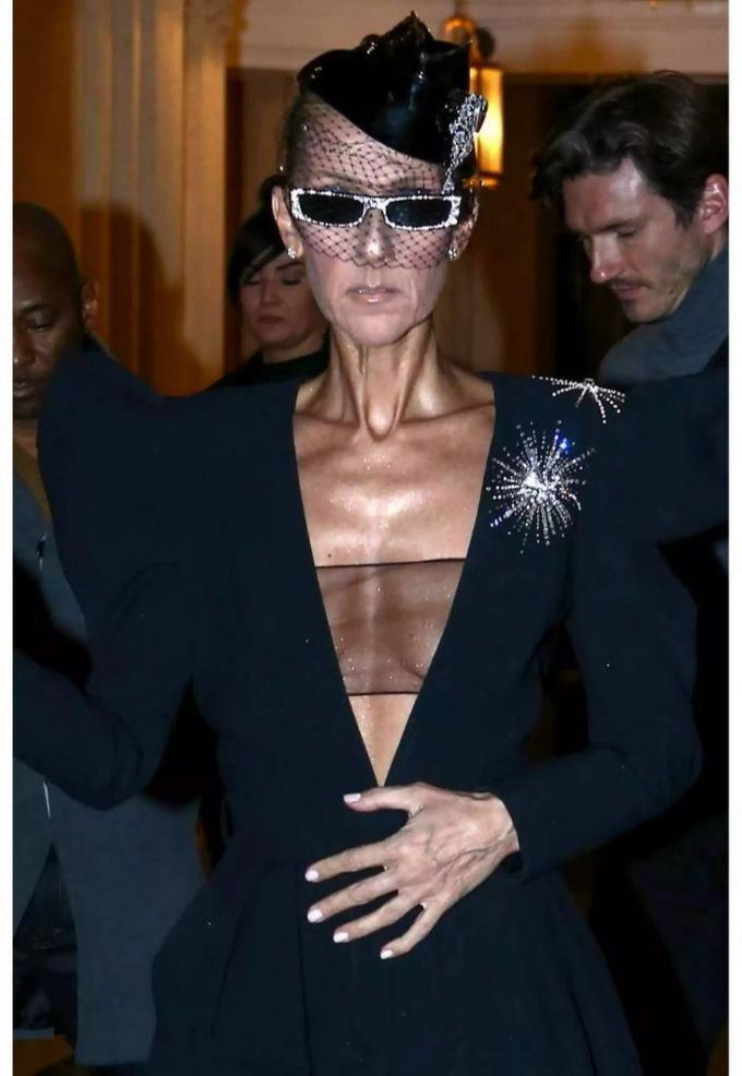 Céline Dion Krank