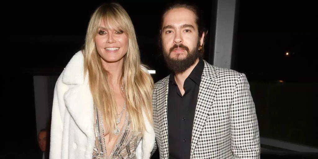 Kaulitz nackt klum heidi Heidi Klum